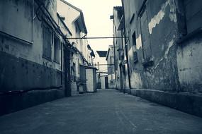 黑白弄堂街
