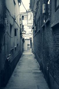 老上海窄窄街巷