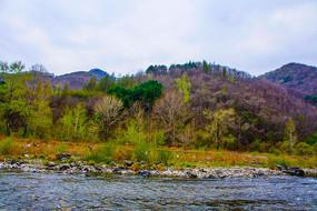 丹东宽甸青山沟的河