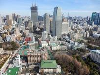俯瞰下的东京