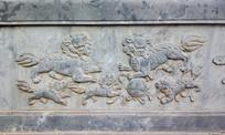 石雕狮子传统文化