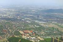 杭州萧山区城市鸟瞰