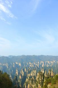 湖南天子山御笔峰自然风光
