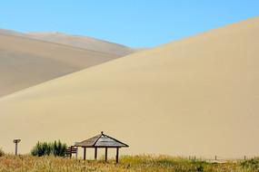 鸣沙山沙漠凉棚