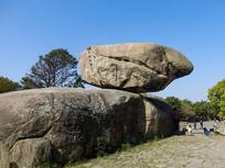 普陀山上的大石头