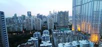 傍晚的广州