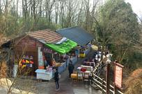 张家界景区的小吃集市