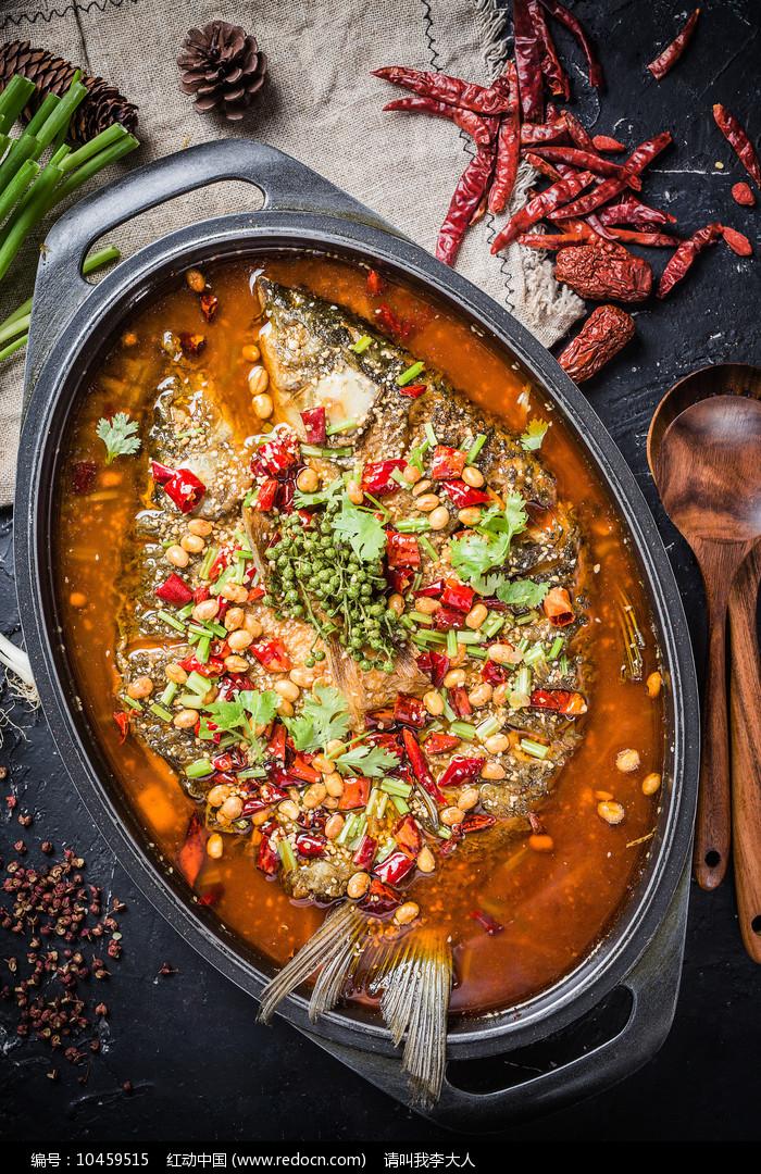 藤椒烤鱼图片