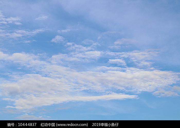 一层层白云图片