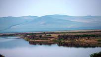 额尔古纳河的晨雾