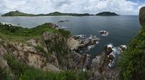 深圳南澳半岛杨梅坑附近的大甲岛