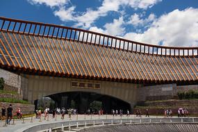 北京世园会中国馆钢结构建筑