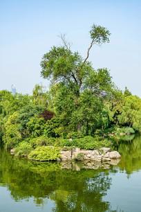 济南大明湖风光