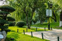 济南大明湖园林绿化
