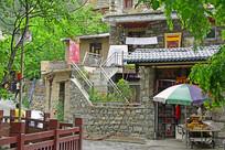 理县甘堡藏寨的石头房子