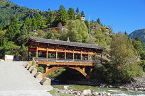 黑水县达古藏寨的红军桥
