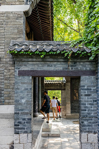 济南大明湖老建筑