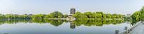 济南大明湖超然楼全景