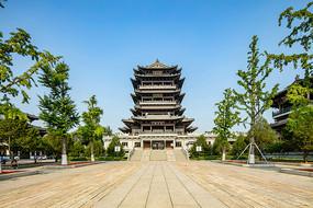 济南大明湖公园建筑之超然楼