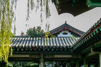 济南大明湖中式建筑