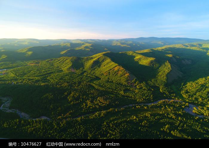 大兴安岭森林地理风光图片