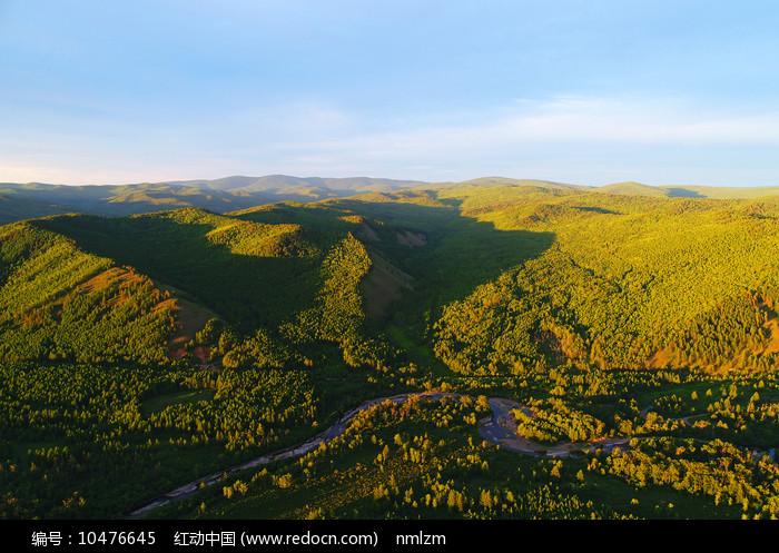 大兴安岭山林风光图片