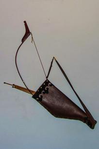 正白旗衙门墙壁上的弓箭
