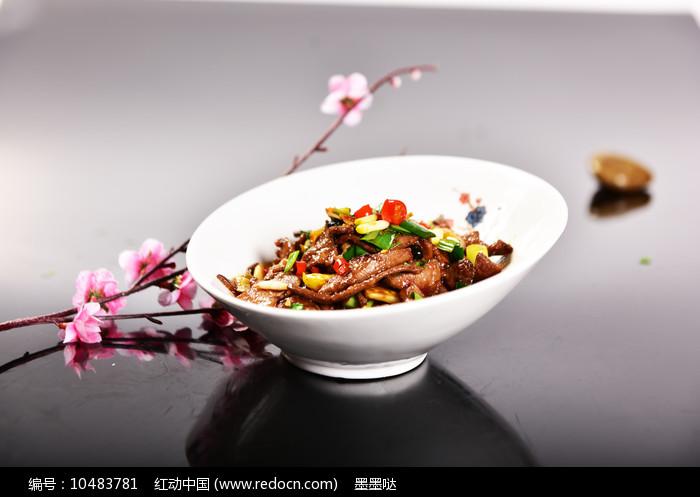 炒猪肝图片