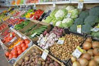 俄罗斯水果蔬菜市场