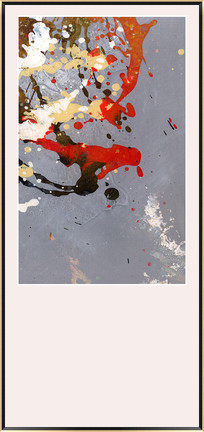 泼墨抽象油画