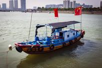 粤东汕头特色小渔船