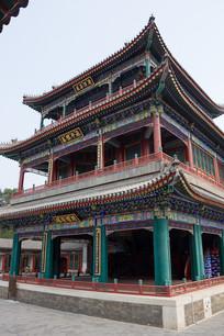 中国古代建筑颐和园德和园戏楼
