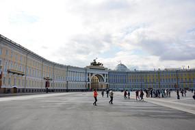 俄罗斯冬宫广场