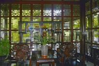上海古猗园不可无竹居室内