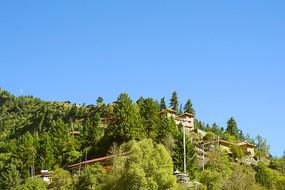 大山深处的上达古藏寨