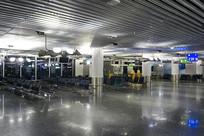 法兰克福机场室内摄影