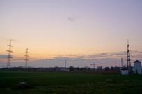 欧洲德国法兰克福郊外风光