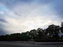 傍晚的云朵
