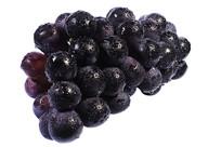 新鲜美味黑紫大葡萄