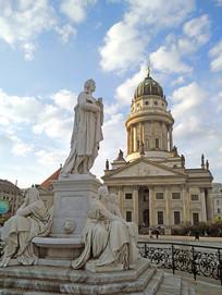 德国柏林御林广场法国大教堂