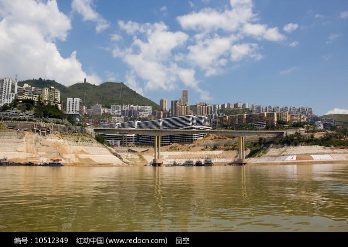 建设中的巫山县城图片
