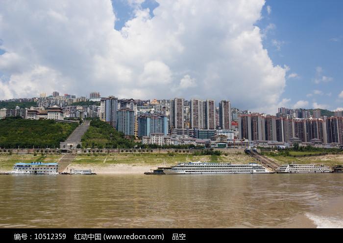 旅游城市巫山县城图片