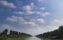 青山绿水古黄河