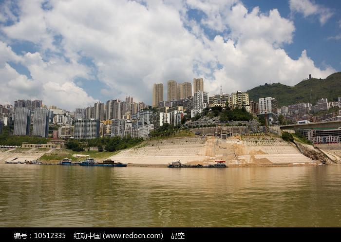 三峡移民新县城巫山县城图片