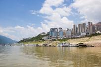 重庆巫山县城美丽风光