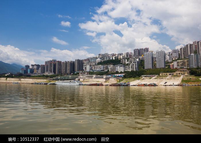 重庆巫山县城全貌图片