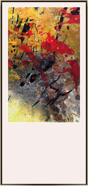 北欧简约现代抽象画