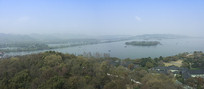 杭州西湖全景
