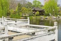 合肥包河公园的江南水景园林