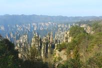 湖南武陵源砂岩峰林自然风光